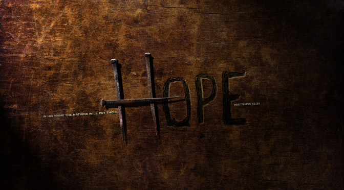 Your Hope Is In Jesus